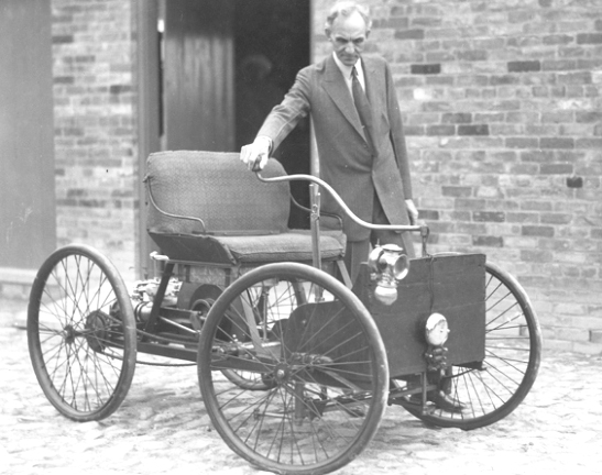 Henry T Ford First Car