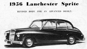 After a distinguished history of automobile innovation starting in 1895, Daimler finally pulled the plug on the Lanchester name, ceasing production of the Lanchester Sprite.