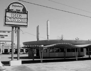 Beaumont, Texas Circular Pig Stand (demolished)