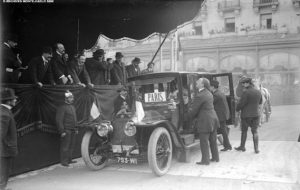 1911 - The first Monte-Carlo Rally