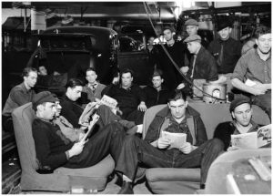 GM sit down strike - February 1937
