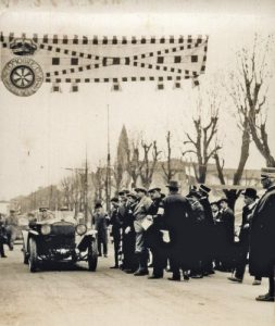The first Mille Miglia