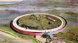 Postcard of The Los Angeles Motordrome