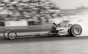 Don Prudhomme in Ford Dragster - 1967