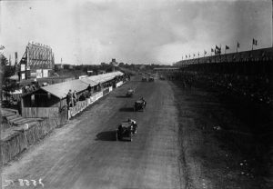 Start of the 1923 French Grand Prix at Tours