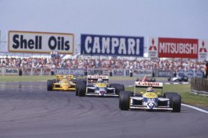 Mansell versus Piquet, 1987 British Grand Prix