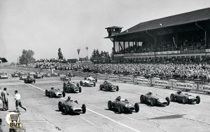 Start of the 1957 German Grand Prix