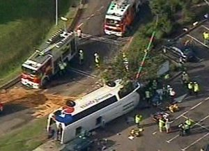 National Express crash - 2007