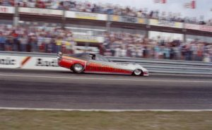 Sammy Miller - 'Vanishing Point' rocket funny car,