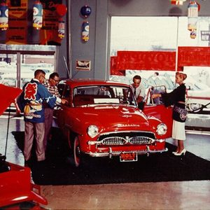 In 1958 Toyota sold its first car in the U.S.