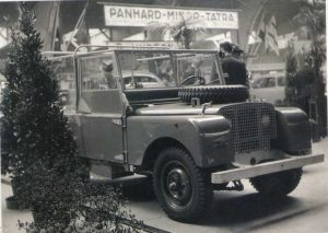 Land Rover - 1948 Amsterdam Motor show
