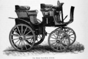 1896. The Bersey Electrical Autocar