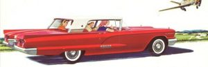 1958 Ford Thunderbird brochure