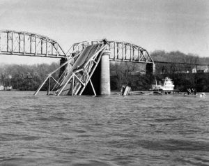 Silver Bridge collapse - 1967